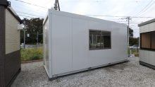 ユニットハウス 洋式ウォシュレットトイレ付 4坪 【展示品】